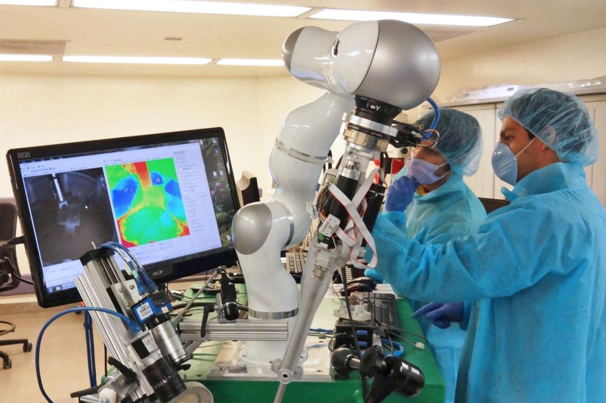 Medical Robotics Equipment Lab